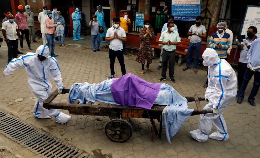 رقم قياسي للوفيات اليومية بكورونا في الهند