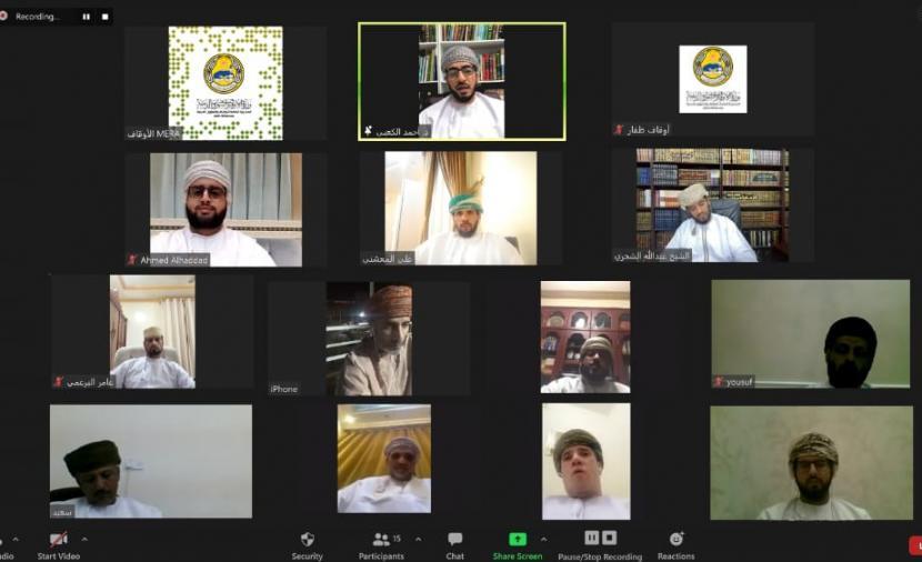 مناقشة آليات عمل لجان الزكاة في ظفار