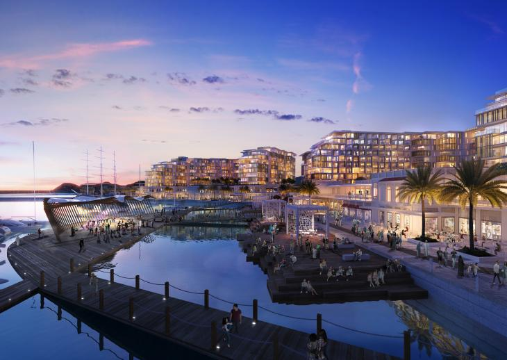 2 مليار دولار لتطوير الواجهة البحرية لميناء السلطان قابوس السياحي