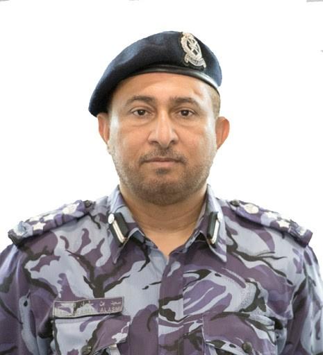 العميد الركن سعيد بن سليمان العاصمي مدير عام العمليات بشرطة عمان السلطانية.jpg
