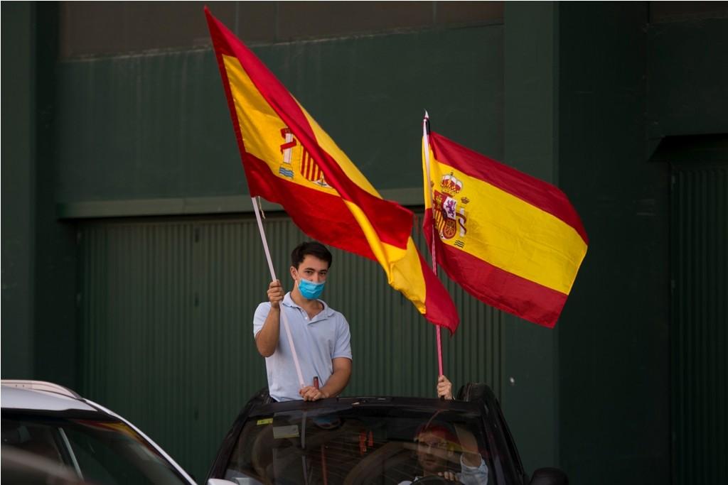 إسبانيا كورونا مظاهرات (1).jpg